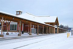 Special thanks to Ron Reiring For This Photo Of Fairbanks Railway Station
